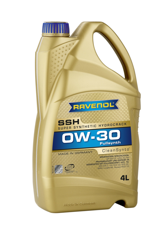 Super Synthetic Hydrocrack SSH 0W-30