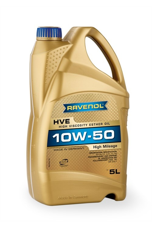HVE High Viscosity Ester Oil 10W-50