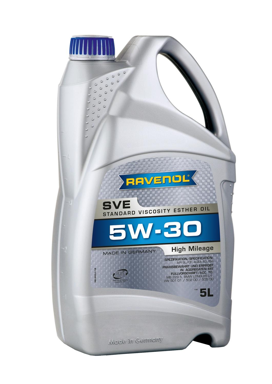 SVE Standard Viscosity Ester Oil 5W-30
