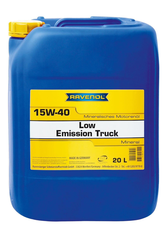 Low Emission Truck 15W-40
