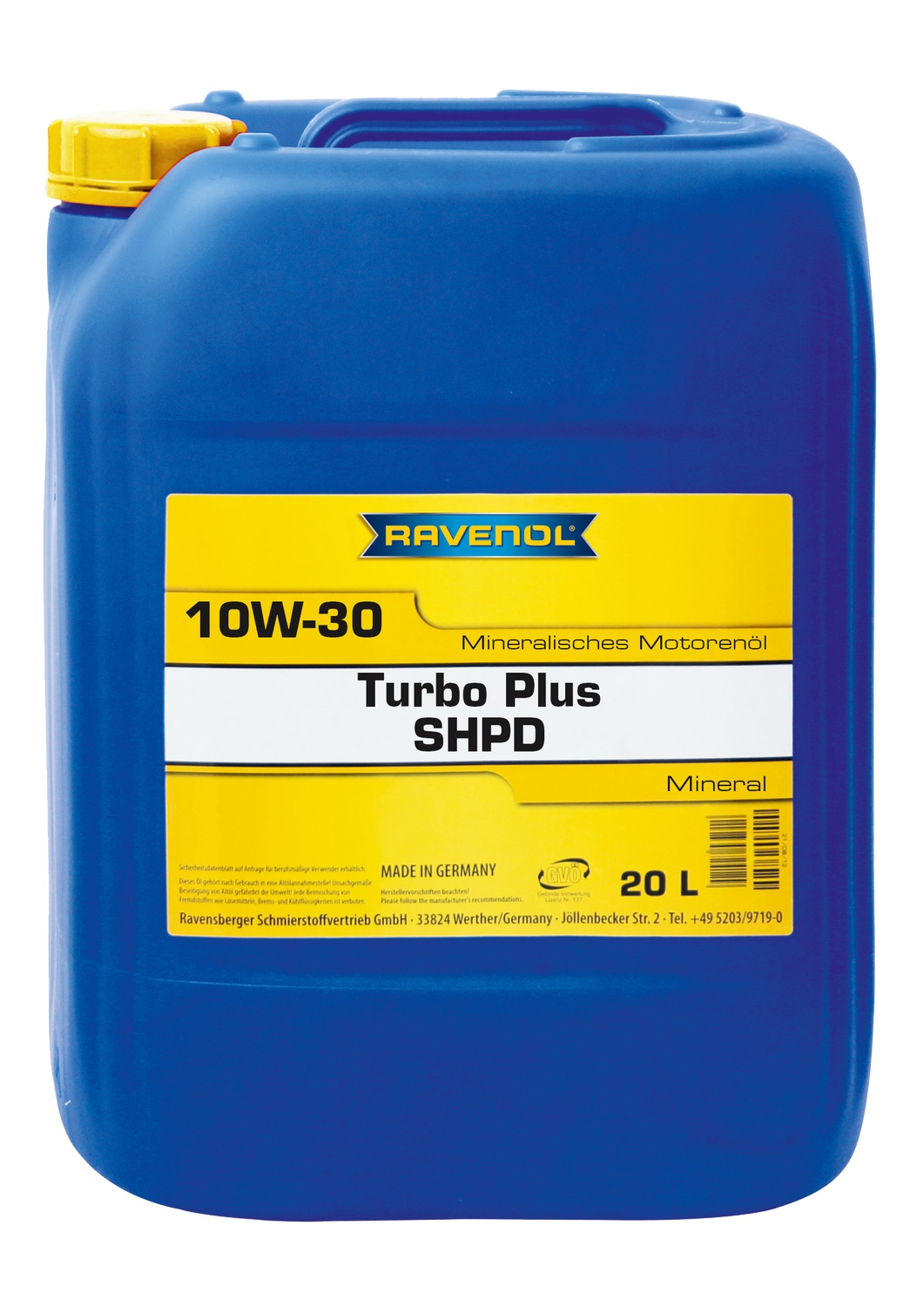 Turbo Plus SHPD 10W-30