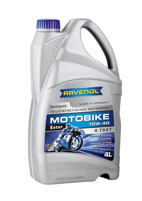 Motobike 4-T Ester 10W-40