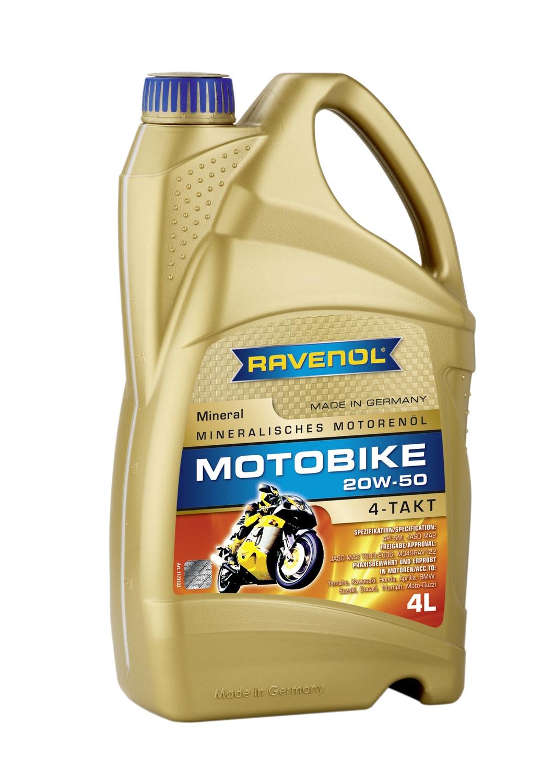 Motobike 4-T Mineral 20W-50