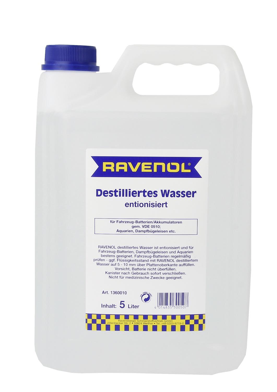 Destilliertes Wasser (entionisiert)