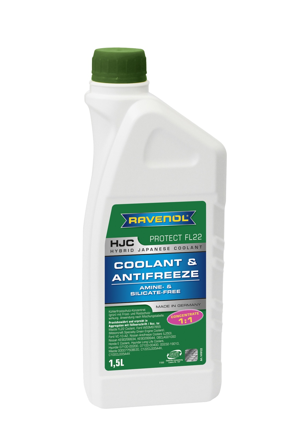 HJC Hybrid Japanese Coolant Concentrate